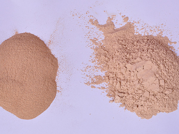 Walnut shell powder skin